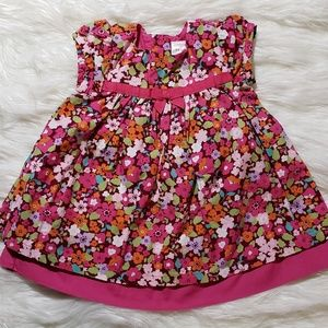 Gymboree flower print Dress size 3-6 M